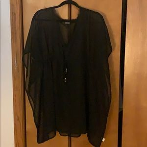 Echo Classic Butterfly Coverup Black One Size